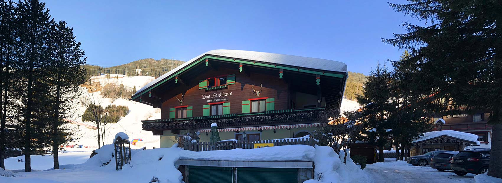Header Panorama Landhaus Gerlos Winter